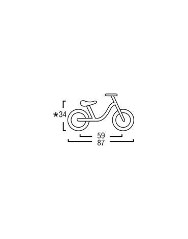 Puky dviratis - paspirtukas