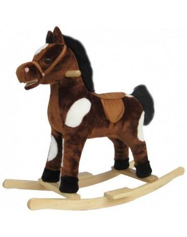 Supamasis medinis arkliukas Rudas