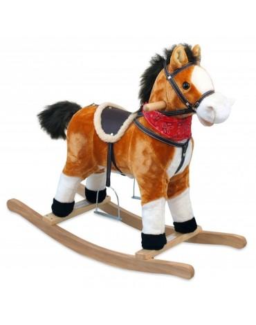 Medinis arkliukas su muzikėlėm