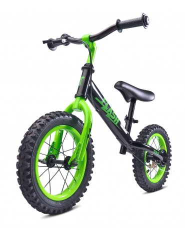 NAUJIENA Caretero flash metalinis balansinis dviratukas