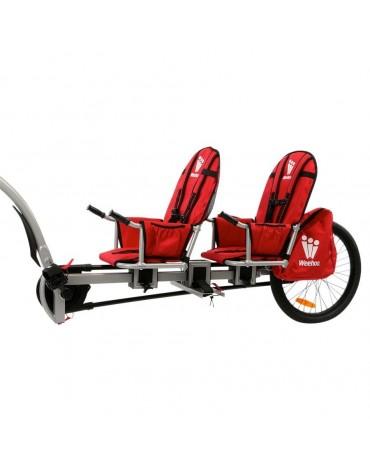 Weehoo Igo two - prijungiamas dviratis-priekaba