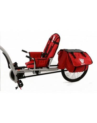 Weehoo iGO Venture - prijungiamas dviratis prie dviracio