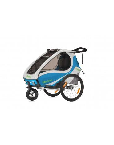 Qeridoo KidGoo 1  2017 dviracio priekaba vaikams