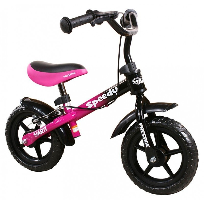 Arti Speedi M-Luxe balansinis dviratis juoda-violetinė