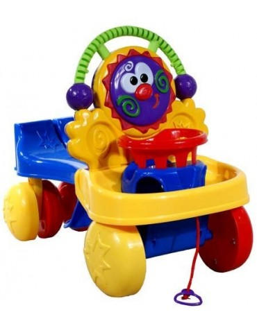 Paspiriamoji mašinėlė - stumdukas Caretero Cart