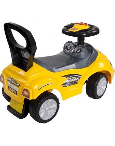 """Sun Baby mašinėlė paspirtukas """"Mega"""" geltona"""