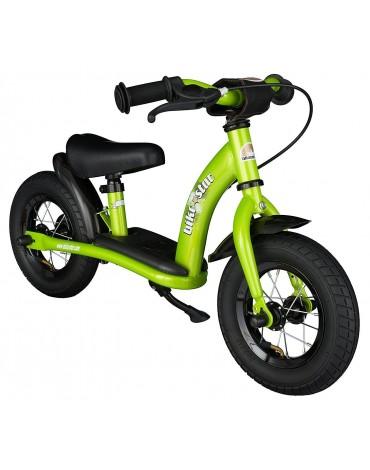 """Bike Star žalias balansinis dviratukas """"Klasika"""" 10 colių"""