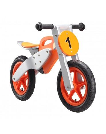 """Bike Star balansinis dviratis """"Motocross Premium"""" 12colių oranžinis"""