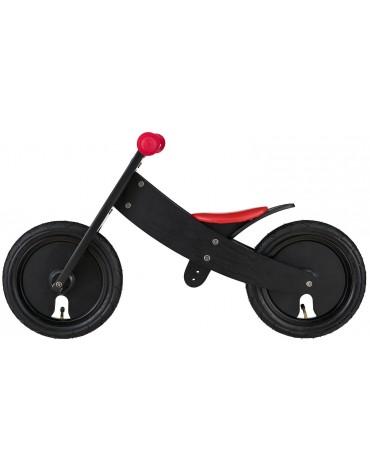 Bike Star juodas balansinis dviratukas augančiu rėmu