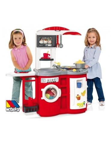 Molto vaikiška virtuvėlė su lyginimo lenta