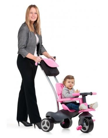 Molto Urban Trike Soft Control 5in1 rožinis triratukas