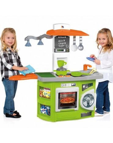 Molto žalia vaikiška virtuvėlė su šviesa