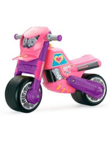 """Paspiriamas motociklas Molto """" Ultimate Girl"""" su šalmu"""