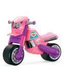 Paspiriama masina motociklas mergaitei
