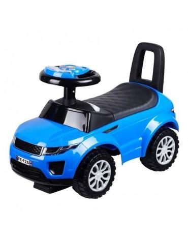 Babymix mėlyna paspiriamoji mašina stumdukas