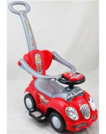 BabyMix raudona užsėdama mašina - stumdukas