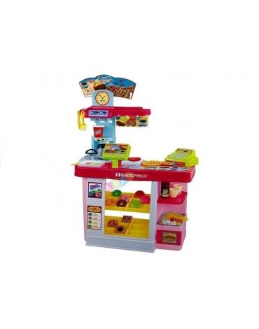 Vaikiška virtuvėlė su saldumynais ir garsais