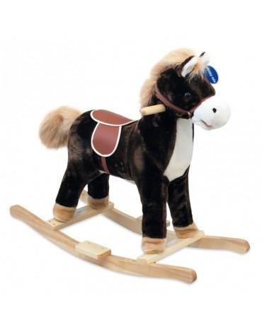 Supamasis arkliukas Juodas- arkliukas medinis