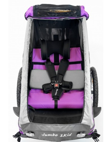 Dviračio priekaba vaikams, Bėgimo vežimėlis