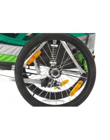 Qeridoo Sportrex 1  2017 vienvietė dviračio priekaba