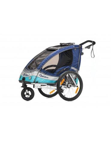 dviracio priekaba vaikams