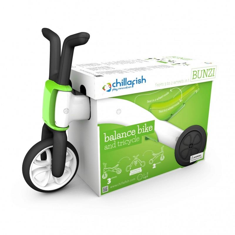 Chillafish Bunzi triratukas -dviratukas plastikinis