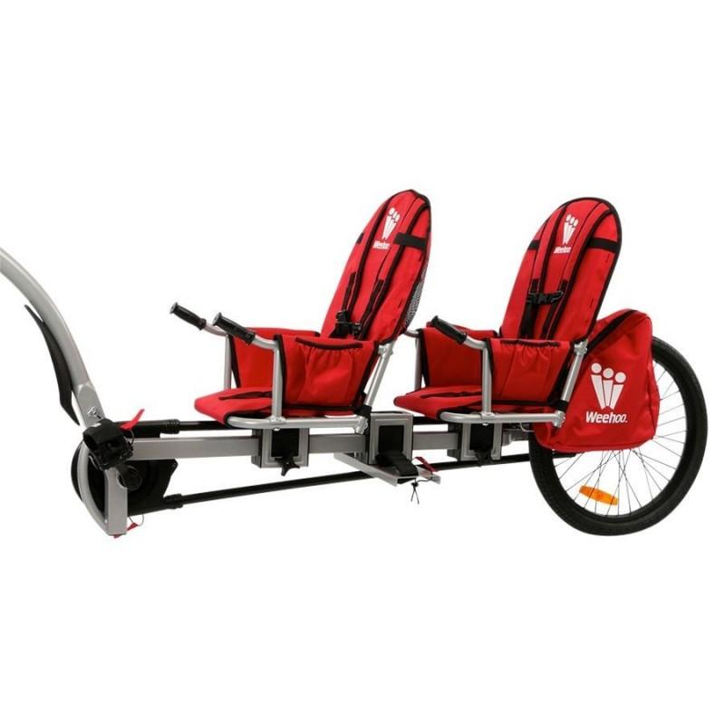 Weehoo prijungiamas dviratis-priekaba