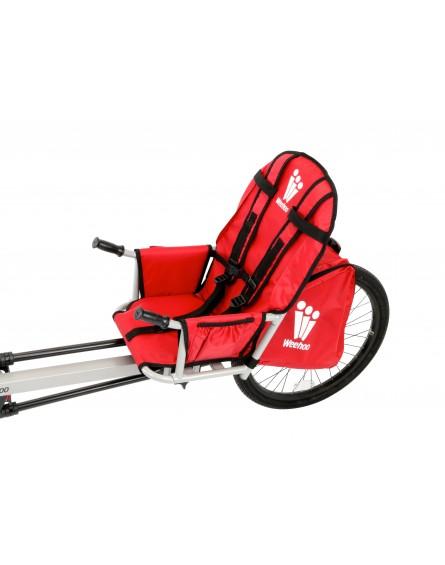Weehoo iGO turbo - prijungiamas dviratis-dviracio vezimelis