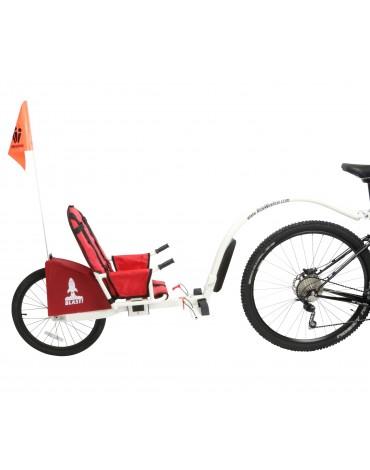 Weehoo iGO Blast - prijungiamas dviratis-priekaba