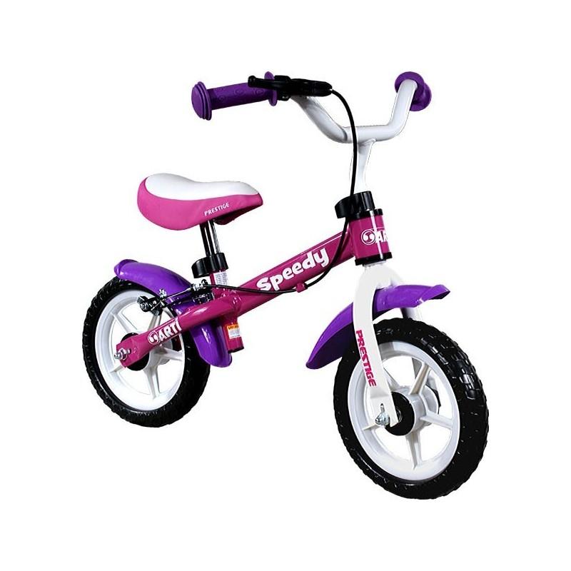 Arti Speedi M-Luxe Pink Purple (rožinis) balansinis dviratis mergaitėms
