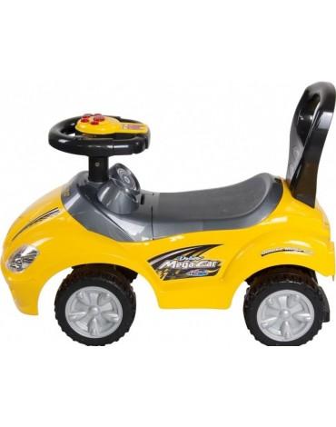 geltona masina vaikui