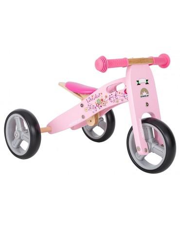 Bike Star balansinis dviratis pridedamais ratais