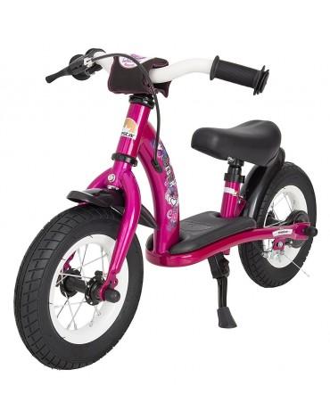 uzsedamas dviratis vaikui be pedalu