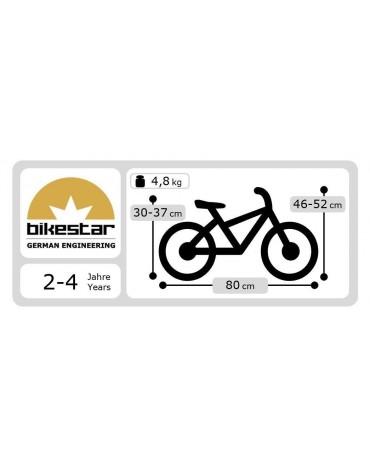 be pedaliuku dviratukas