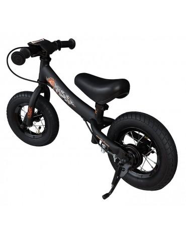 Bike Star juodas balansinis dviratukas mazam vaikui