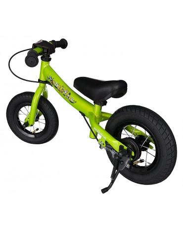 Bike Star žalias balansinis dviratukas