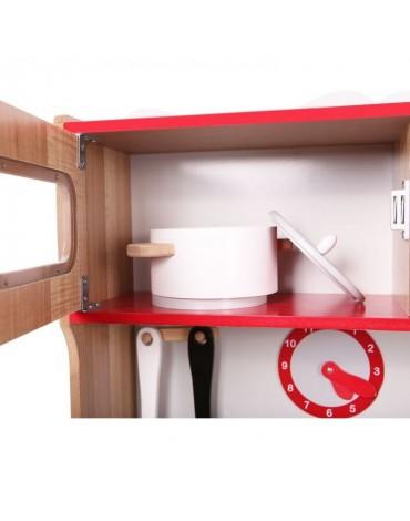 EcoToys medinė vaikiška virtuvė