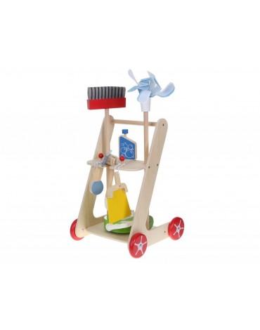 EcoToys valymo rinkinys vaikui su 7 priedais