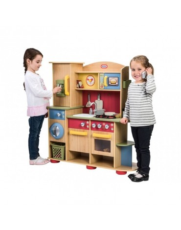 Little Tikes medinė vaikiška virtuvėlė