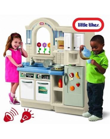 Little Tikes didelė vaikiška virtuvele su kepsnine