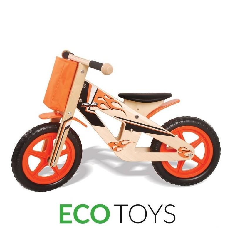 EcoToys medinis balansinis dviratukas