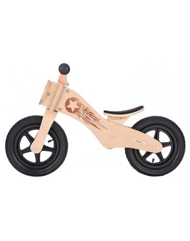 Star Bike Medinis beržo rėmo balansinis dviratukas