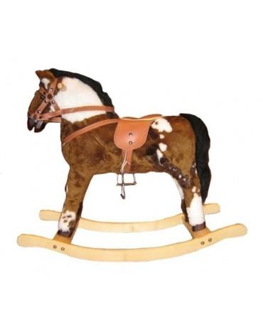 Didelis supamas arkliukas kalnų žirgas EMIKA