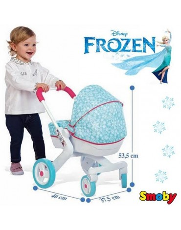 Smoby FROZEN Pop lėlių vežimėlis