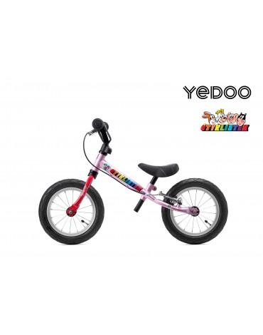 Yedoo Čtyrlistek balansinis dviratukas 2+ Pink