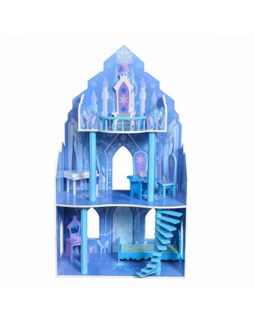 """Medinis lėlių namelis """"Ledo..."""