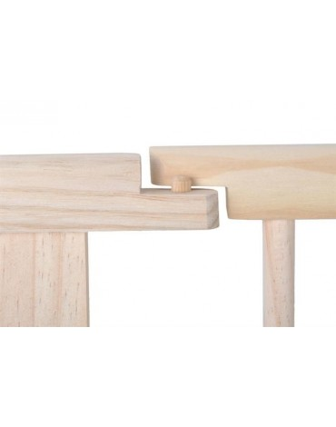 Įvairiai dėliojama 8 dalių medinė apsauginė tvorelė-maniežas