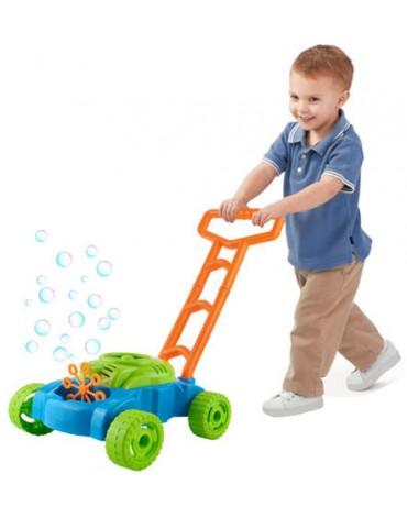 vaikiška žoliapjovė su burbulais