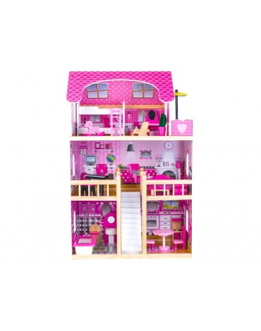 mergaitiskas lėlių namelis