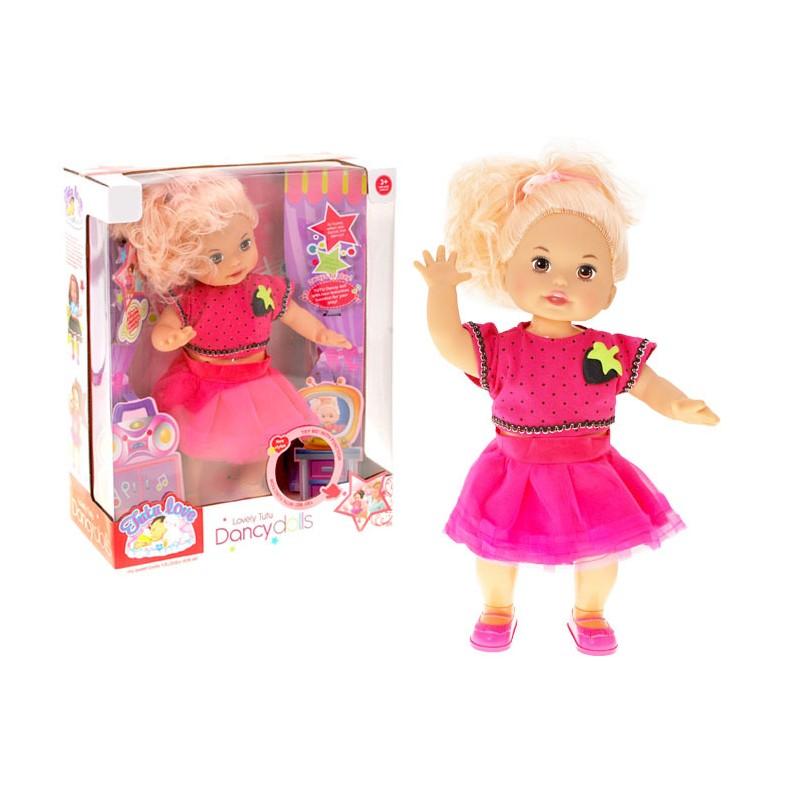 šokanti lėlė barbė